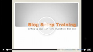 WordPress Blog Training – Set up Your WordPress Blog in 30 min